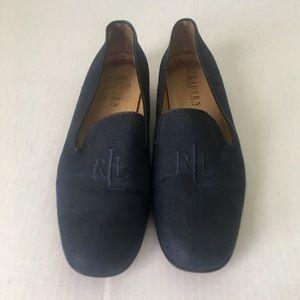 Lauren Ralph Lauren Fabric Logo Loafers